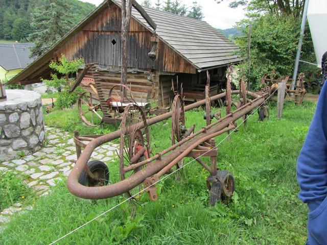 Obiskali smo kmečki muzej na domačiji Florjančič