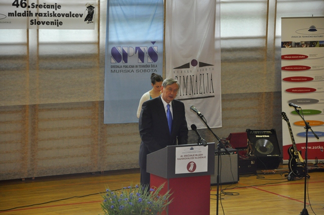 Nagovor predsednika republike Slovenije, g. Danila Türka.