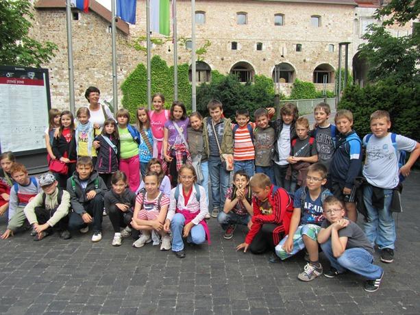 4. razred obiskal Ljubljano